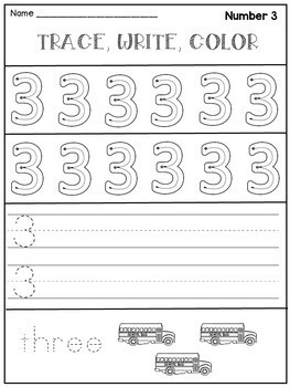 Back to School Kindergarten Activities (Letters and Numbers)