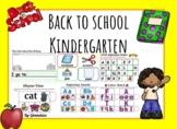 Back to School Kindergarten for Google Slides for Distant