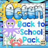 Back to School - Ocean Theme