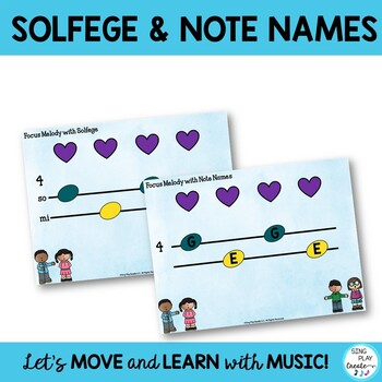 "Music Lesson and Game: ""Hello"" Song for Back to School Music Class"