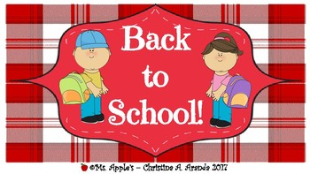 Back to School Labels #4