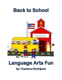Back to School Language Arts Package (Includes 3 Tests)