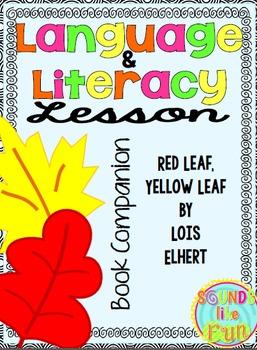 Back to School Language & Literacy Lesson Book Companion Bundle