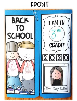 Back to School Lap Book in English & Spanish