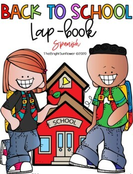 Back to School LapBook in SPANISH