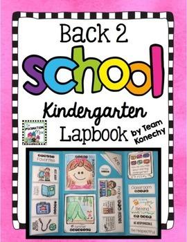 Back to School Lapbook - Kindergarten