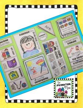 Back to School Lapbook - Second Grade
