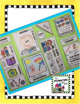 Back to School Lapbook - Third Grade