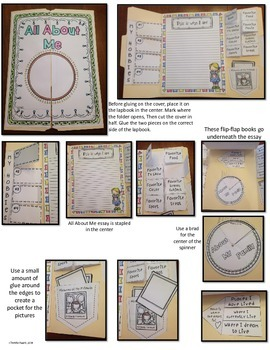 Back to School Lapbooks and Writing Reports