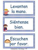 Back to School - Las Reglas - Spanish class rules