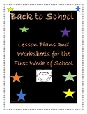 Back to School Lesson Plans For Second Grade