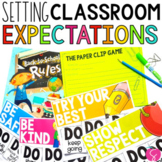 Back to School: Lesson Plans and Activities for Teaching Rules and Expectations