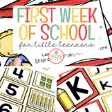 FIRST WEEK OF SCHOOL: BACK TO SCHOOL FOR THE BEGINNING OF THE SCHOOL YEAR