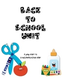 Back to School!  Lessons and Activities