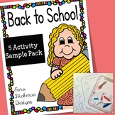 Back to School Lessons for Preschool