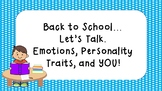 Back to School Talk Time