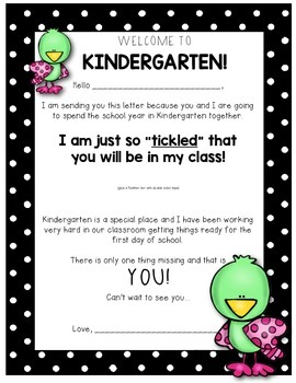 Back to School {Welcome} Letter for Students & Parents!