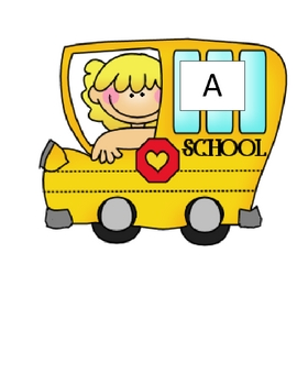 Back to School-Letter Bus