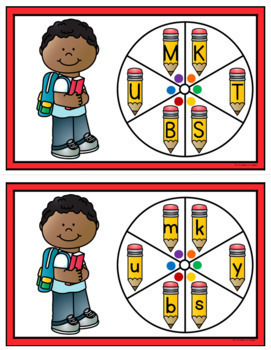 Back to School Letter Game