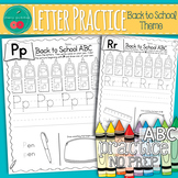 Back to School Letter Practice