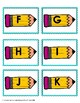Back to School Letter Recognition 'Bang' Game