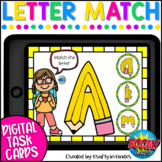 Letter Matching Uppercase and Lowercase Boom Cards