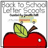 Letter Identification Scoot