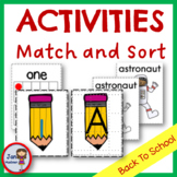 Alphabet and  Numbers Card Games
