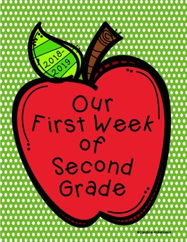 Our First Week of School Class Book