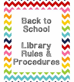 Back to School Library Rules Prezi for Orientation