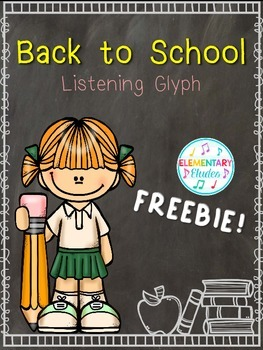 "Back to School Listening Glyph FREEBIE - ""ABC"" by The Jackson 5"
