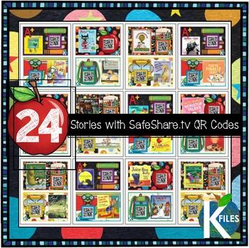 Back to School Listening Center w/ SafeShare.tv QR Codes & Links
