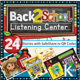 Back to School Listening Center w/ SafeShare.tv QR Codes & Links