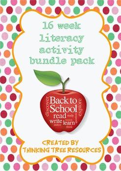 Literacy Activity Worksheet Bundle Pack