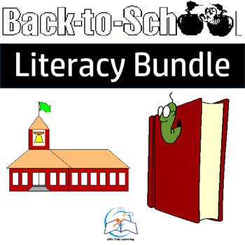 First Grade Literacy Centers for the Year (Six Units) Bundle