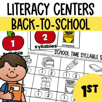 Back to School-Literacy Center Fun