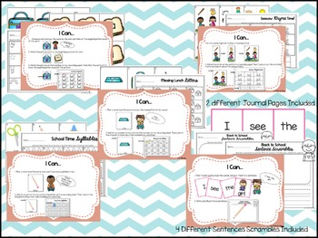 Back to School Literacy Centers (9 Common Core Aligned Stations)