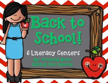 Back to School Centers (Literacy)