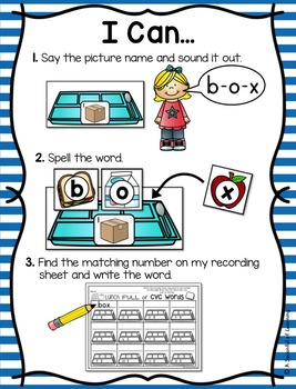 Back to School Literacy Centers - First Grade