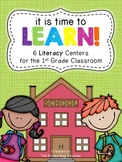 Back to School Literacy Centers: It's Time to Learn