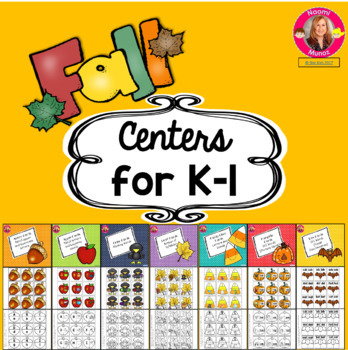 Centers for Kindergarten and First Grade
