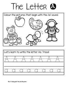 Back to School: Literacy & Math Work