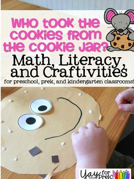 Back to School - Literacy, Math, and Craftivities for preschool, prek, kinder!