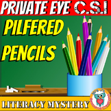 Back to School Literacy Mystery: The Pilfered Pencils - ma