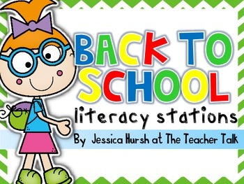 Back to School Literacy Stations