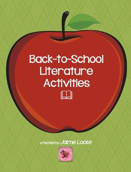 Back to School Literature Activities