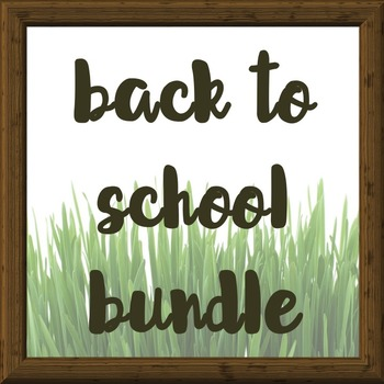 Back to School Super Pack Bundle! (Save 40%)