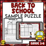 Back to School Logic Puzzles Freebie