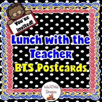 Back-to-School Lunch With The Teacher Postcards