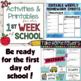 Back to School MADE EASY